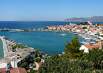 Samos. Pythagorion. Kokkari. Accommodation. Beaches.