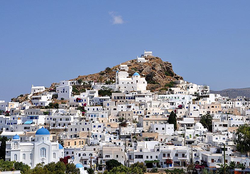 Chora in Ios  The Village  Greece