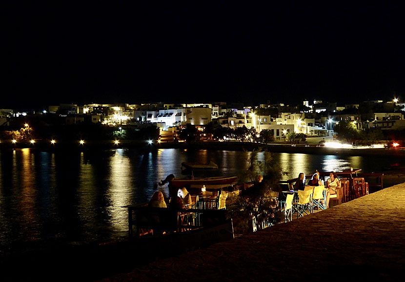 Chora at night.