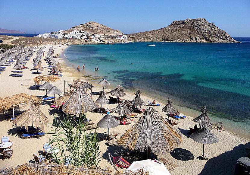 Agia Anna Beach In Mykonos Tarsanas