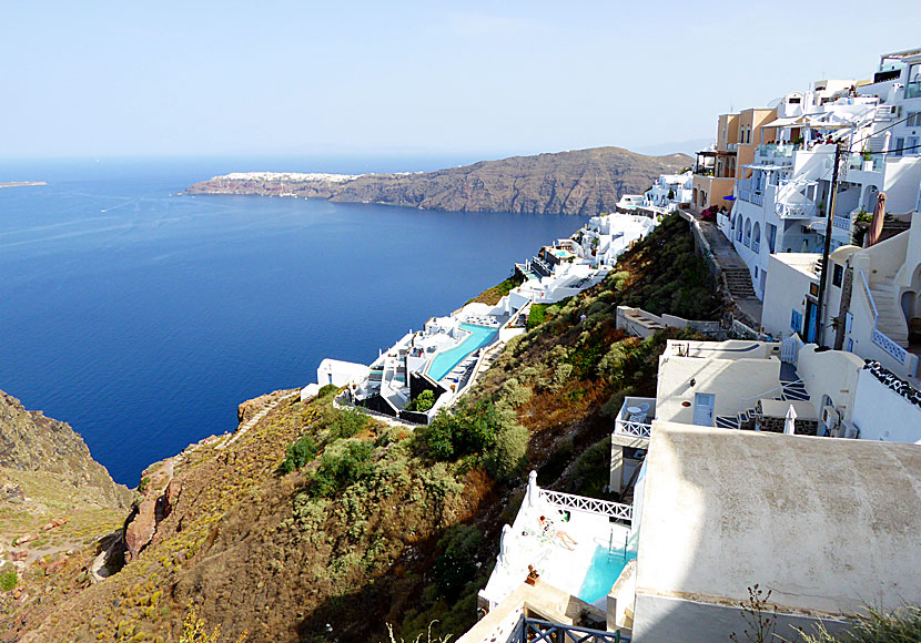 Santorin Island In Greece Beaches Accommodation Sigths