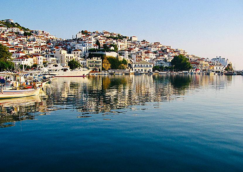 Skopelos in Greece. Beaches. Sights. Accommodation. Mamma Mia. Ferries.